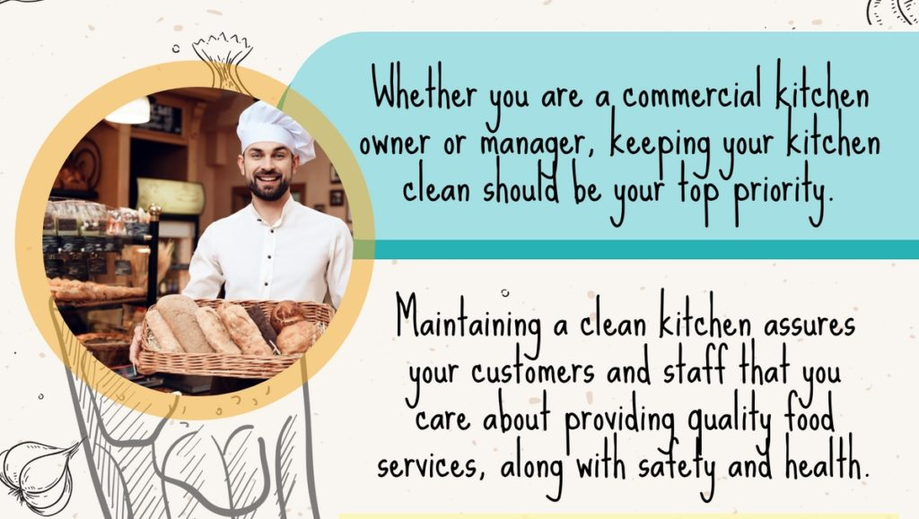 Benefits Of Commercial Kitchen Cleaning