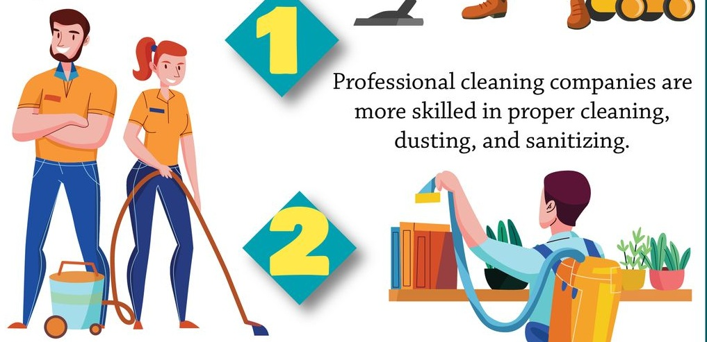 Benefits Of Hiring Professional Cleaning Services For Your Office
